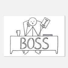 I Boss Postcards (Package of 8)