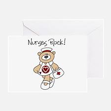 Nurses Rock Greeting Card