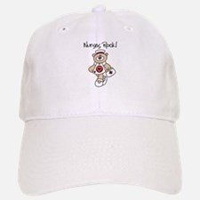 Nurses Rock Baseball Baseball Cap