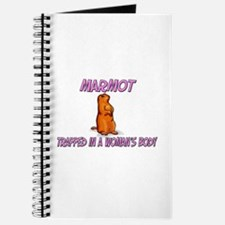 Marmot Trapped In A Woman's Body Journal