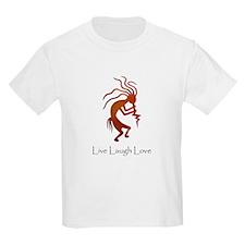 Kokopelli Live Laugh Love T-Shirt