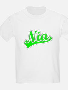 Retro Nia (Green) T-Shirt