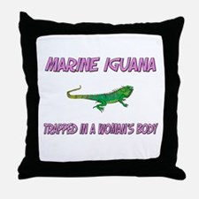 Marine Iguana Trapped In A Woman's Body Throw Pill