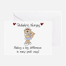 Pediatric Nurse Greeting Card