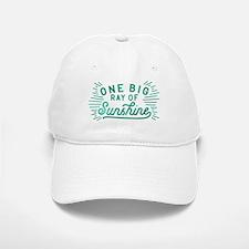 One Big Ray Of Sunshine Baseball Baseball Cap