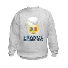 France Drinking Team Sweatshirt