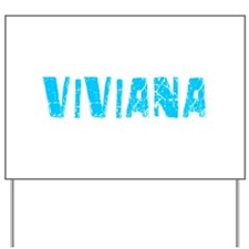 Viviana Faded (Blue) Yard Sign