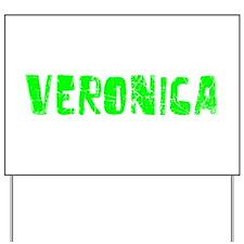 Veronica Faded (Green) Yard Sign