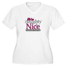 We're Naughty & Nice T-Shirt