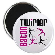 """Baton Twirler 2.25"""" Magnet (10 pack)"""