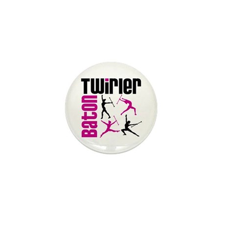 Baton Twirler Mini Button (100 pack)