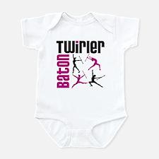 Baton Twirler Infant Bodysuit