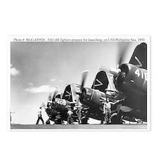 Navy F4U Corsair Postcards (Package of 8)