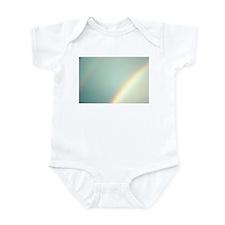 Cute Double rainbow Infant Bodysuit