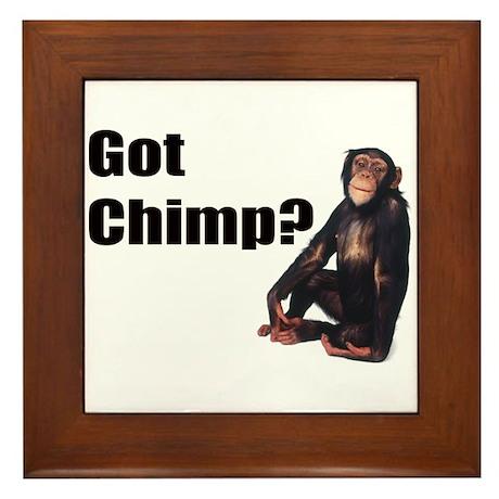 Got Chimp Framed Tile