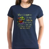 55 years old Women's Dark T-Shirt