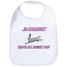 Jackrabbit Trapped In A Woman's Body Bib