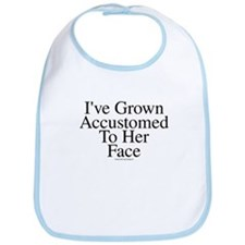 Accustomed To Her -TuneTitles Bib