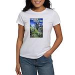Green Bicycle Women's T-Shirt