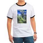 Green Bicycle Ringer T