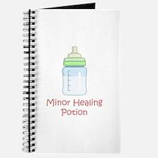 RPG Milk Healing Potion Journal