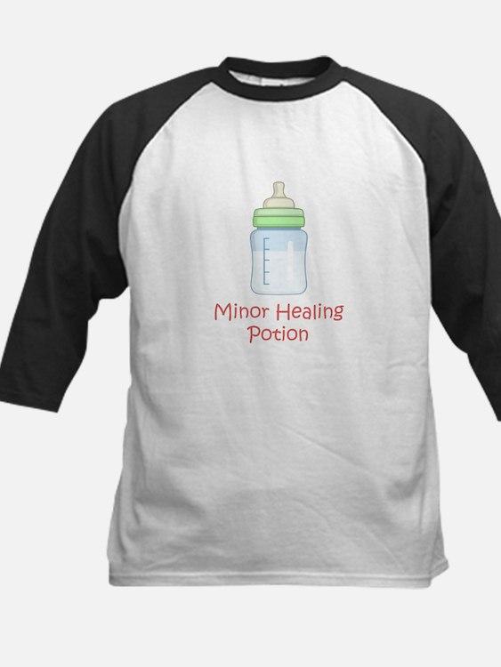 RPG Milk Healing Potion Kids Baseball Jersey