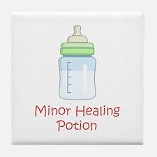RPG Milk Healing Potion Tile Coaster