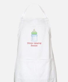 RPG Milk Healing Potion BBQ Apron
