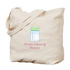 RPG Milk Healing Potion Tote Bag