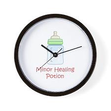 RPG Milk Healing Potion Wall Clock