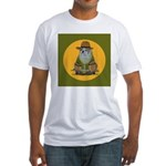 English Bully Trail Boss Fitted T-Shirt