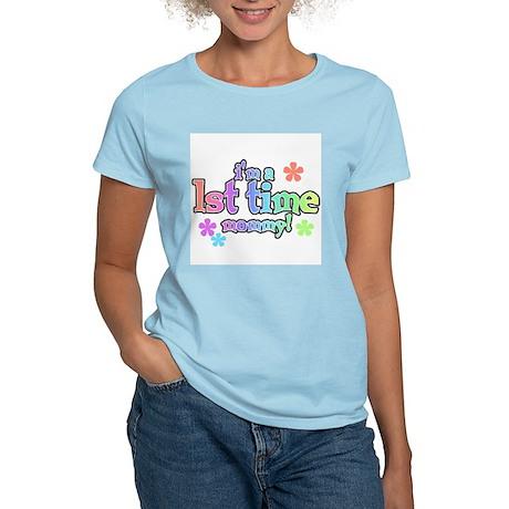 1st Time Mom Women's Light T-Shirt