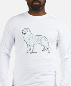 kuvasz Portrait Long Sleeve T-Shirt