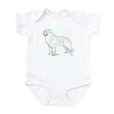kuvasz Portrait Infant Bodysuit