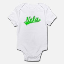Retro Nola (Green) Infant Bodysuit