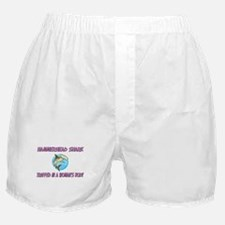 Hammerhead Shark Trapped In A Woman's Body Boxer S