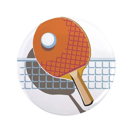 """Table Tennis 3.5"""" Button (100 pack)"""