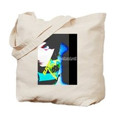 Cool Gothic music Tote Bag