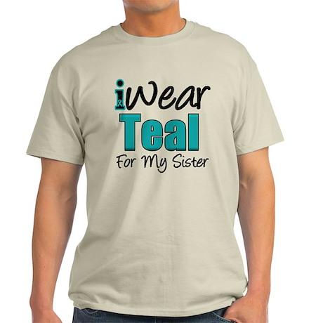 I Wear Teal Sister v1 Light T-Shirt
