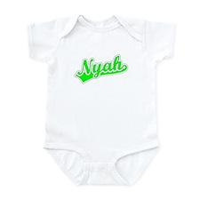 Retro Nyah (Green) Infant Bodysuit