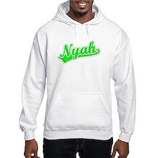 Retro Nyah (Green) Hoodie Sweatshirt