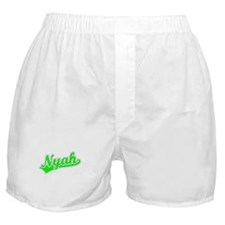 Retro Nyah (Green) Boxer Shorts