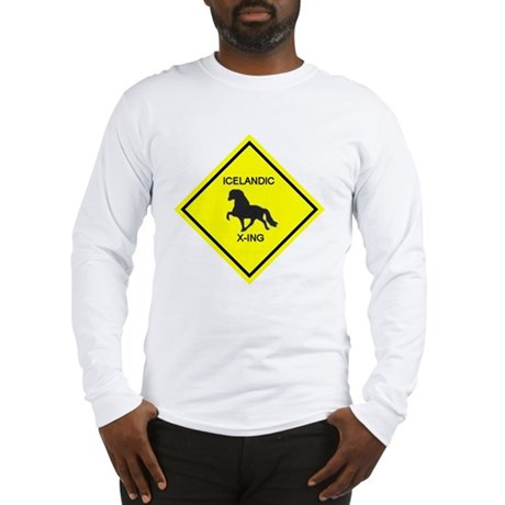 The Icelandic Horse Long Sleeve T-Shirt