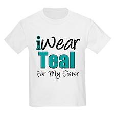 I Wear Teal Sister v1 T-Shirt