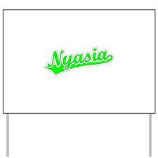 Retro Nyasia (Green) Yard Sign