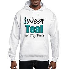 I Wear Teal Niece v1 Hoodie