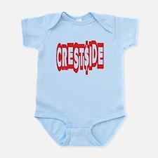 CREST$IDE -- T-SHIRTS Infant Bodysuit