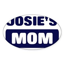 JOSIE Mom Oval Decal