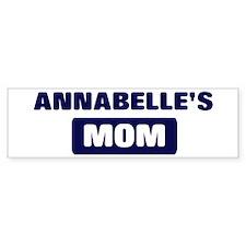 ANNABELLE Mom Bumper Bumper Sticker