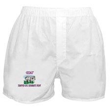 Goat Trapped In A Woman's Body Boxer Shorts